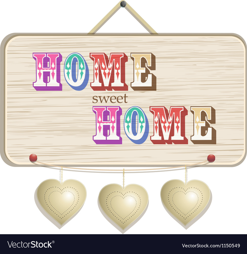 Home sign vector | Price: 1 Credit (USD $1)