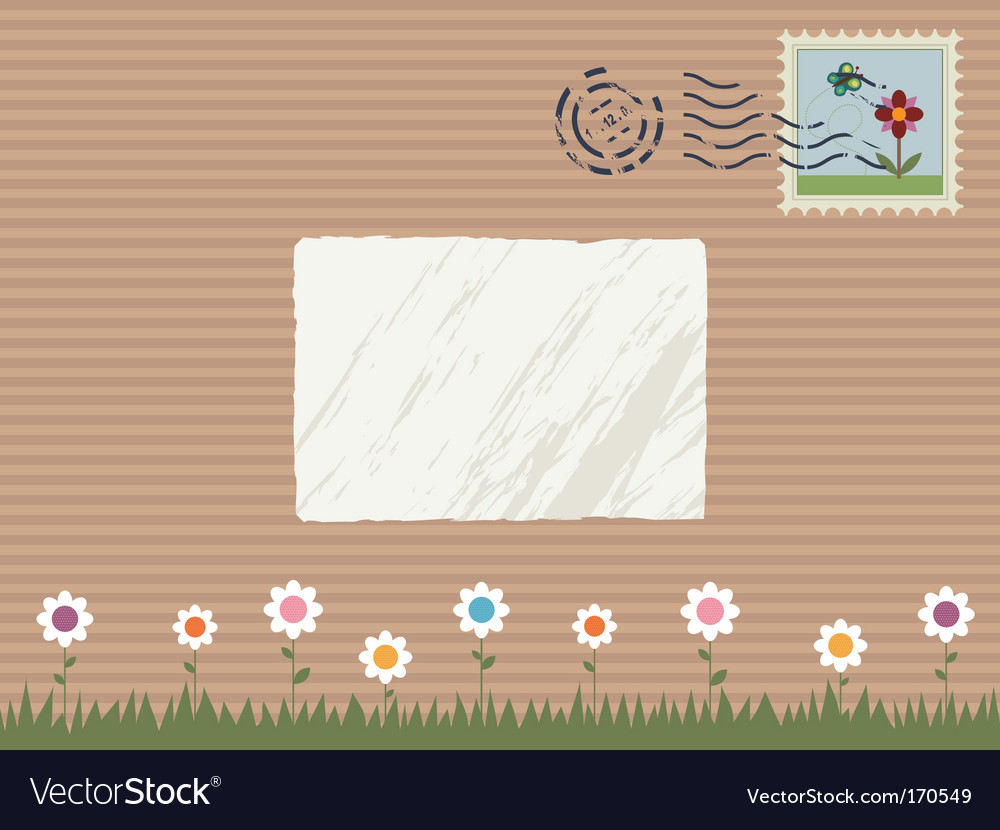 Nature parcel vector | Price: 1 Credit (USD $1)