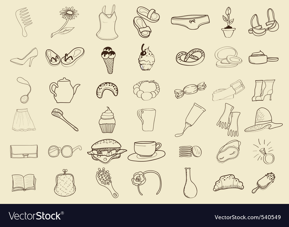 Sketch icons vector | Price: 1 Credit (USD $1)