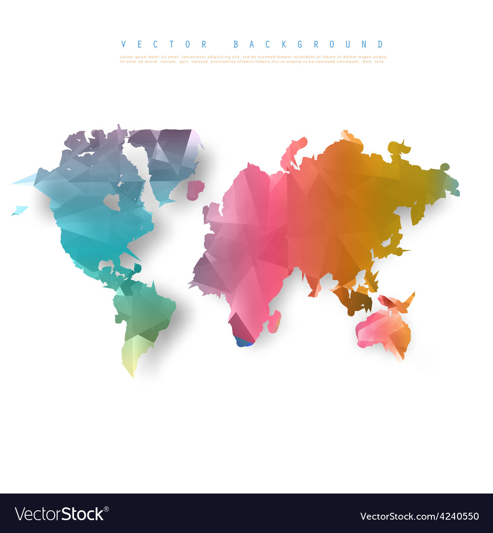 Abstract telecommunication earth map vector   Price: 1 Credit (USD $1)