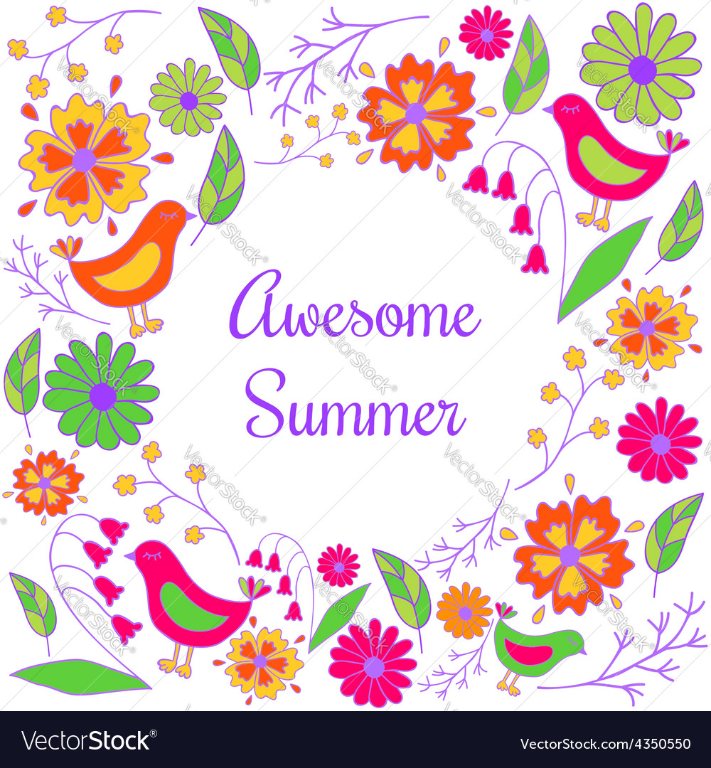 Awesome summer vector | Price: 1 Credit (USD $1)