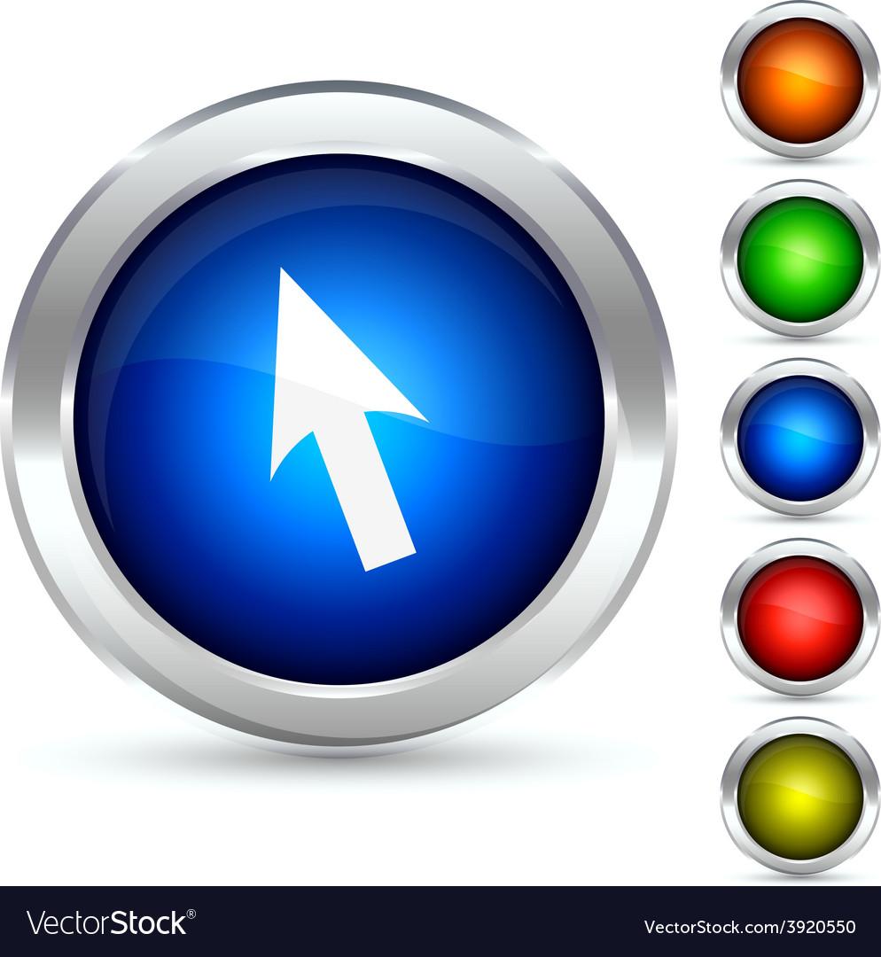Cursor button vector | Price: 1 Credit (USD $1)