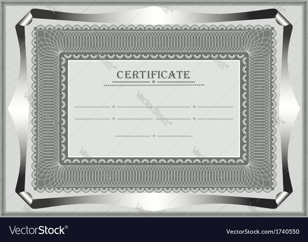 Frame for official document vector | Price: 1 Credit (USD $1)