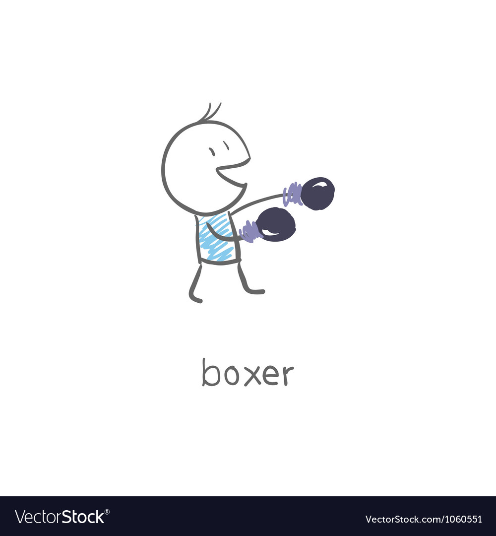 Boxer vector | Price: 1 Credit (USD $1)