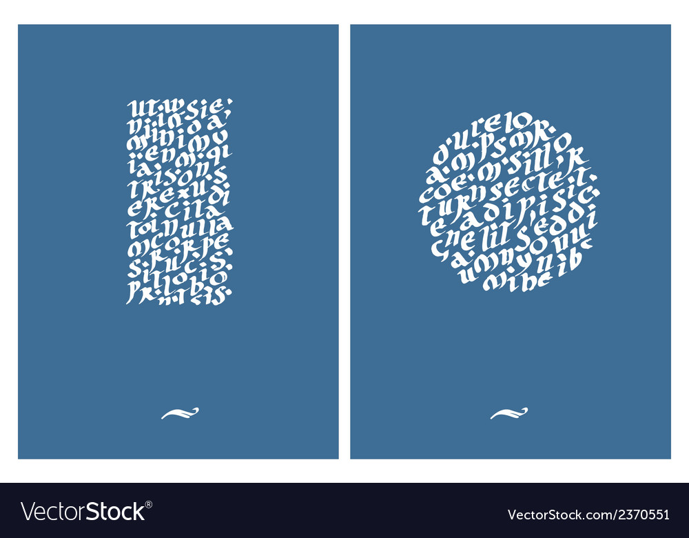 Calligraphic inscription vector   Price: 1 Credit (USD $1)