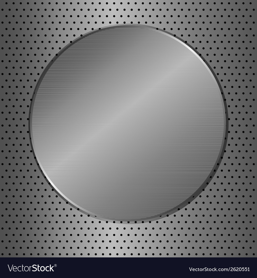 Metal circle vector | Price: 1 Credit (USD $1)