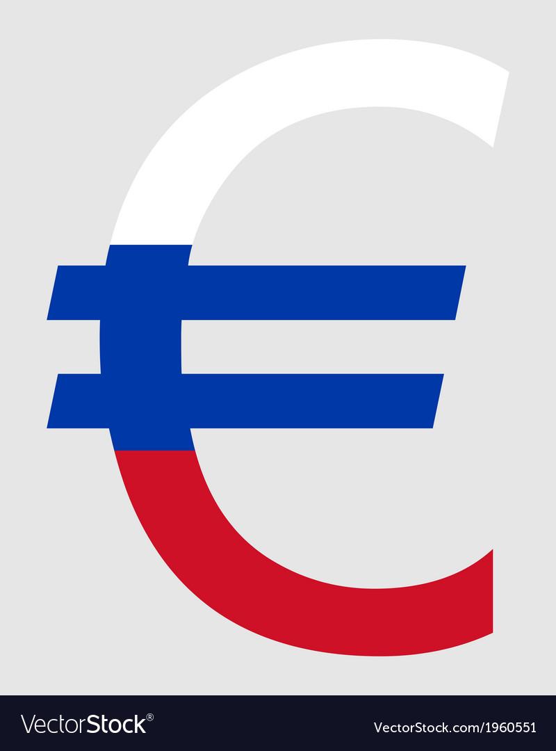 Slovakian euro vector | Price: 1 Credit (USD $1)