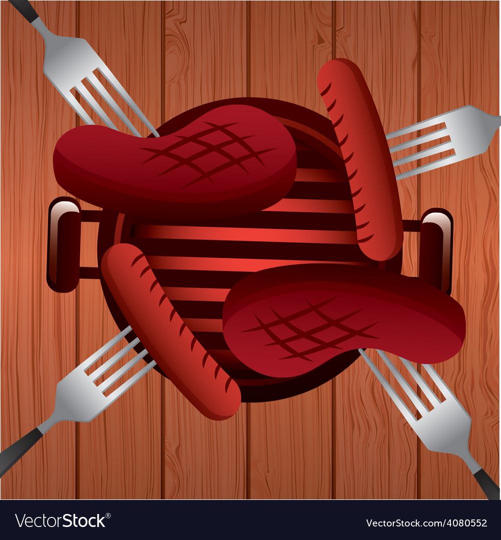Barbecue vector   Price: 1 Credit (USD $1)