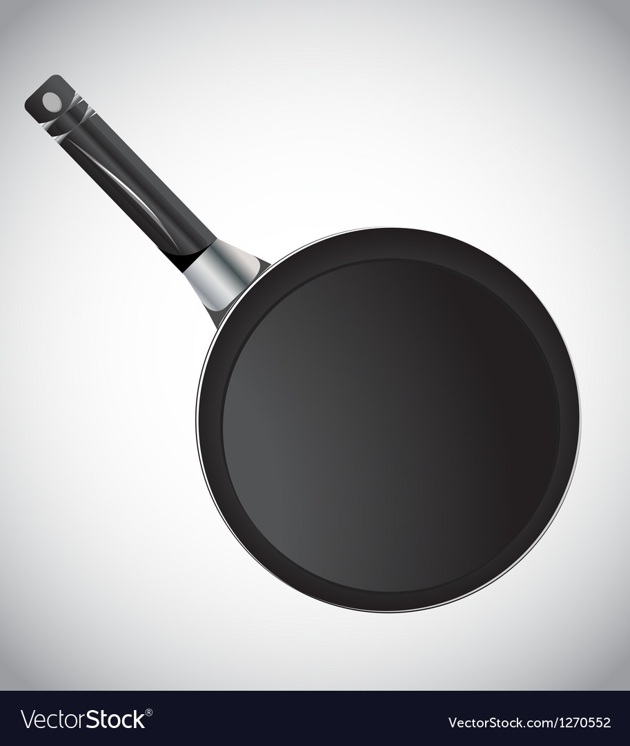 Cooking pan vector | Price: 1 Credit (USD $1)