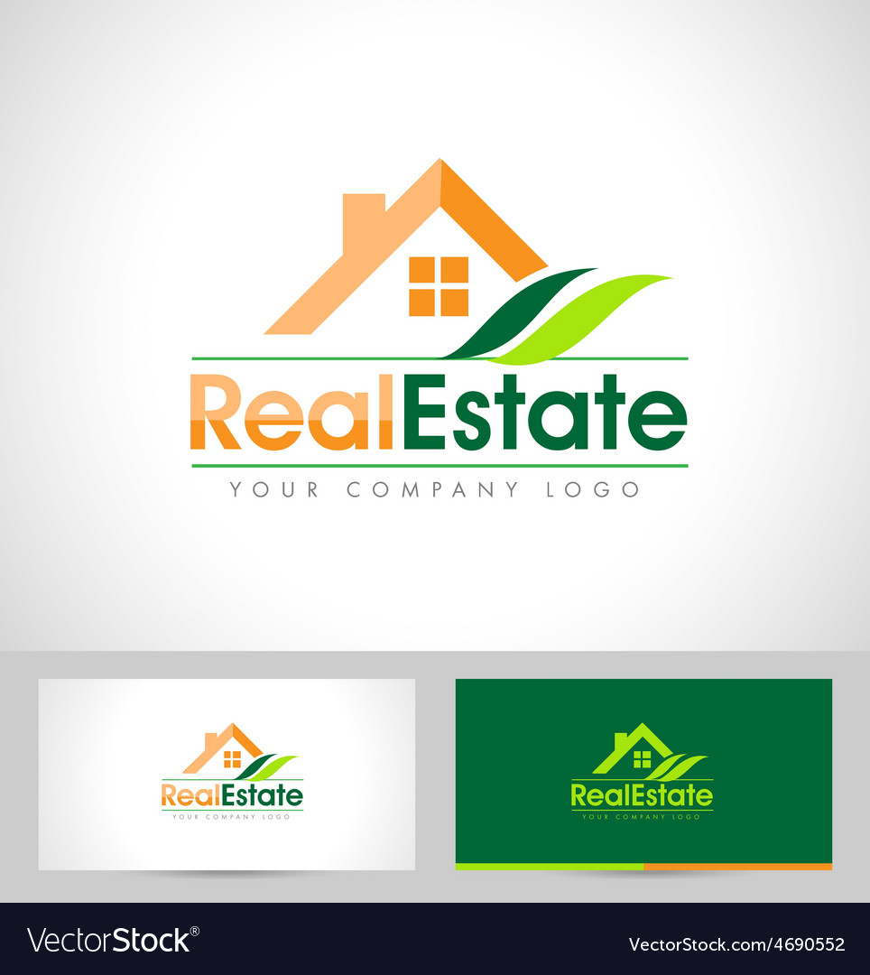 Real estate logo design vector | Price: 1 Credit (USD $1)
