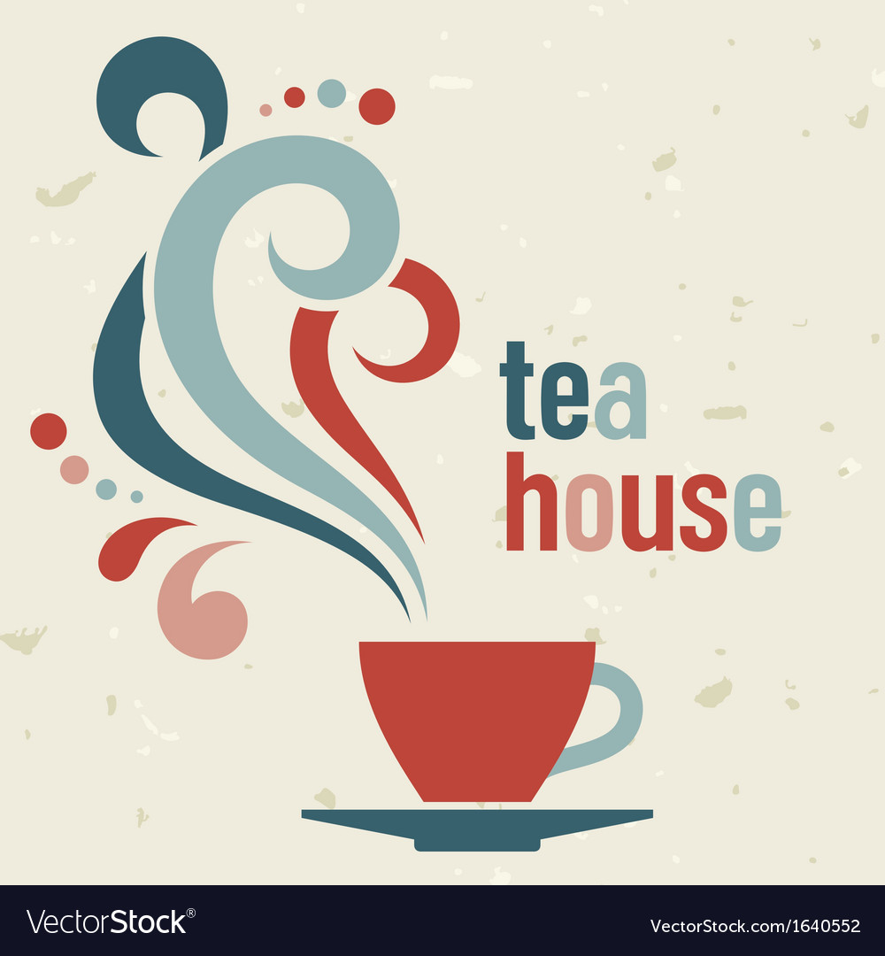 Tea house vector | Price: 1 Credit (USD $1)