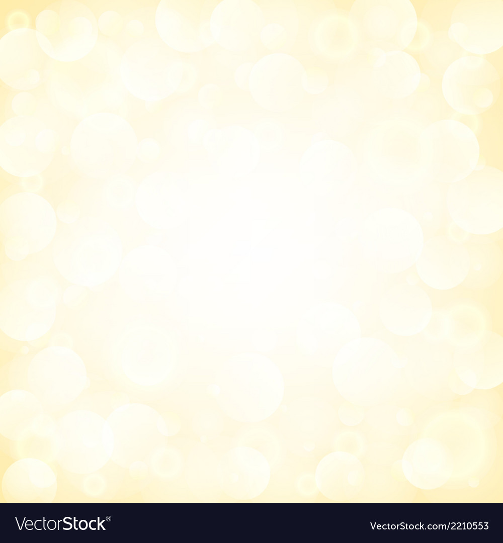 Background with bokeh vector | Price: 1 Credit (USD $1)