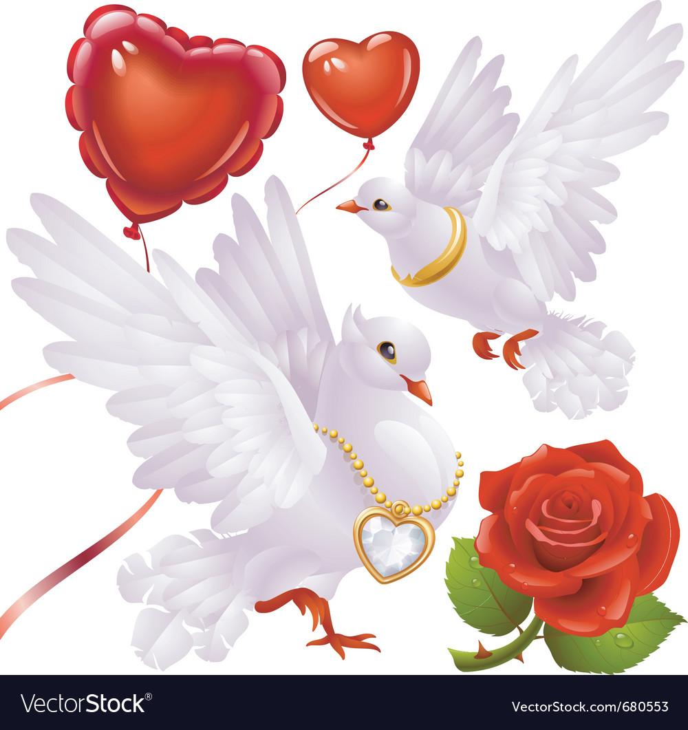 Valentines day set vector | Price: 3 Credit (USD $3)