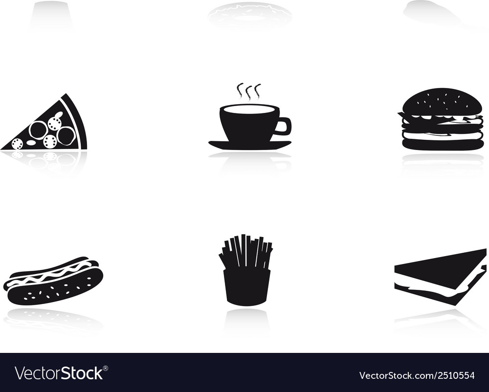 Fast food eps10 vector | Price: 1 Credit (USD $1)