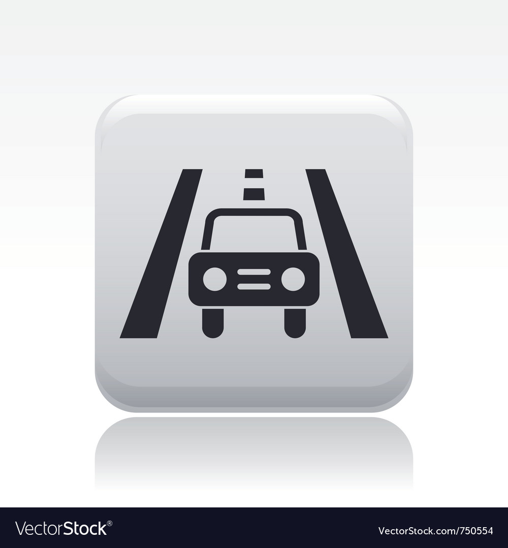 Road car icon vector | Price: 1 Credit (USD $1)