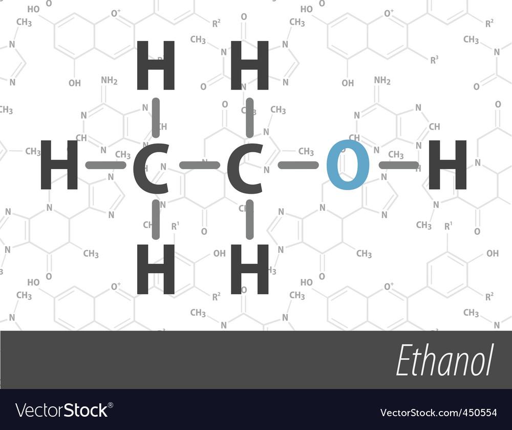 Set of chemistry organic formulas vector   Price: 1 Credit (USD $1)