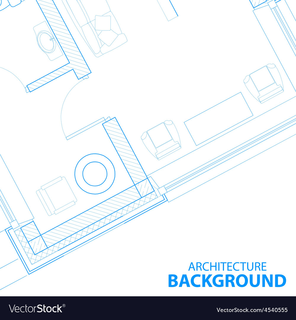 Background with blueprint vector | Price: 1 Credit (USD $1)