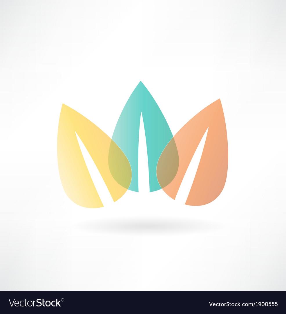 Foliage icon vector | Price: 1 Credit (USD $1)