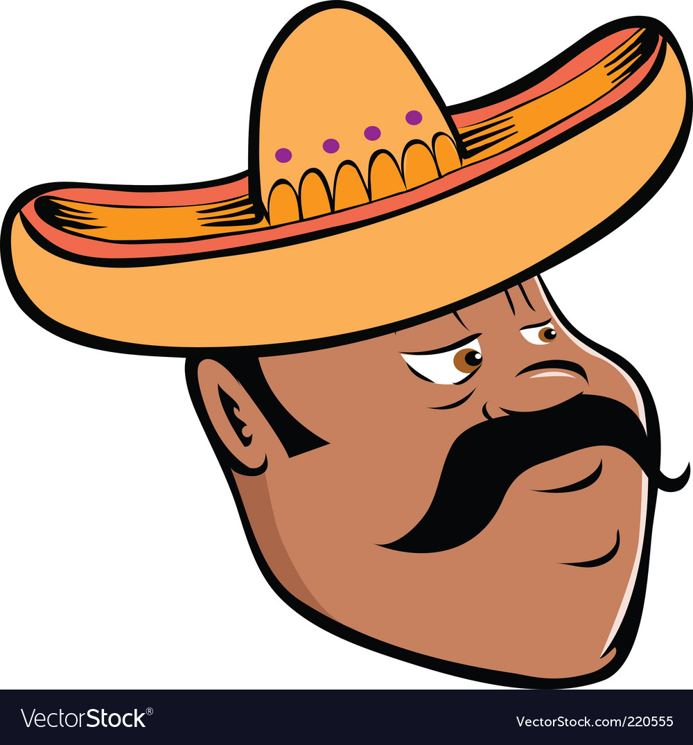 Mexican sombrero vector | Price: 1 Credit (USD $1)