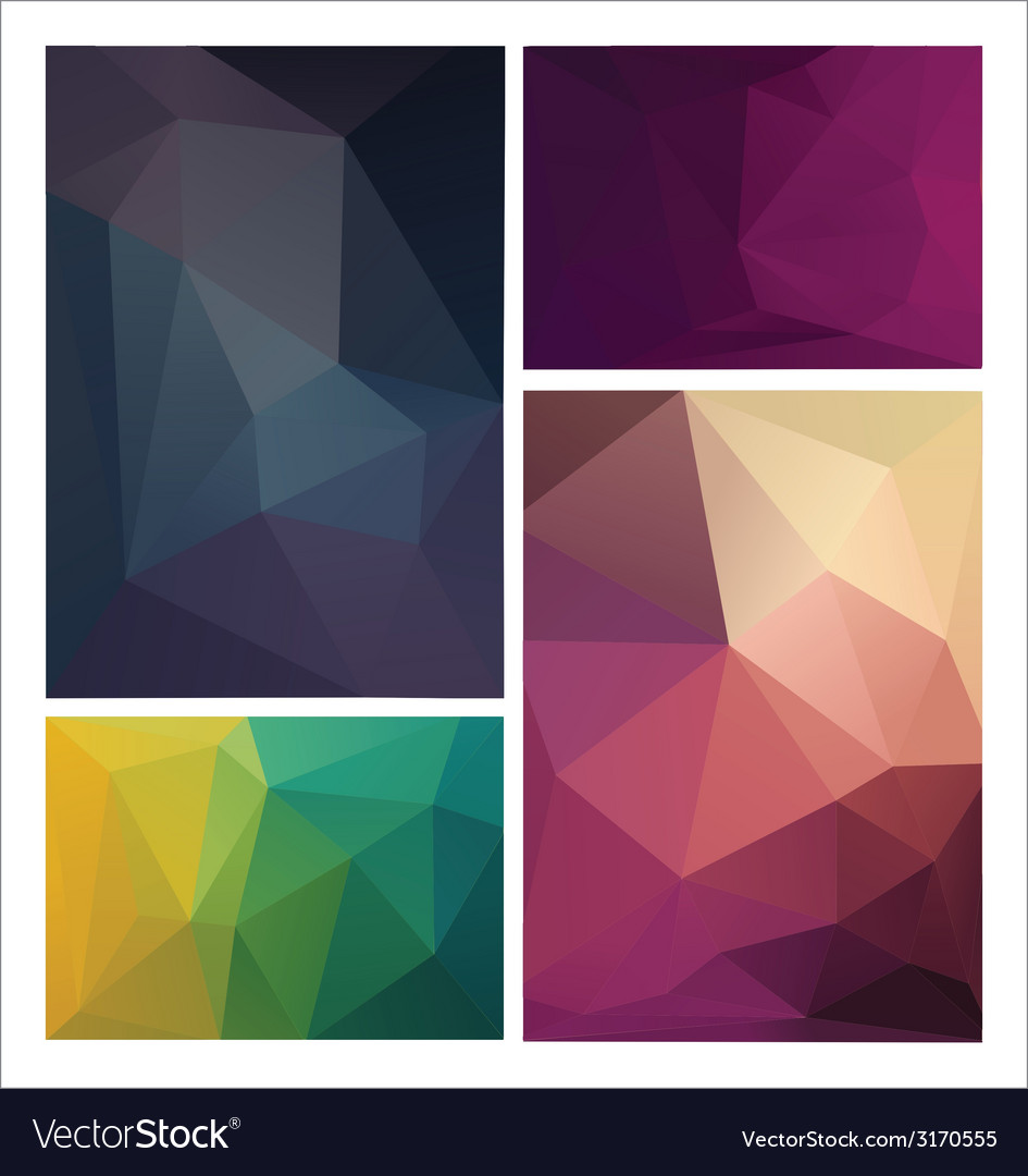 Multicolored geometric pattern vector | Price: 1 Credit (USD $1)