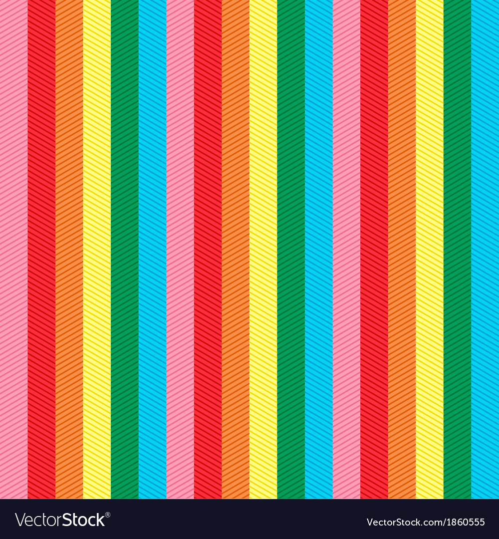 Seamless vertical stripes pattern vector | Price: 1 Credit (USD $1)