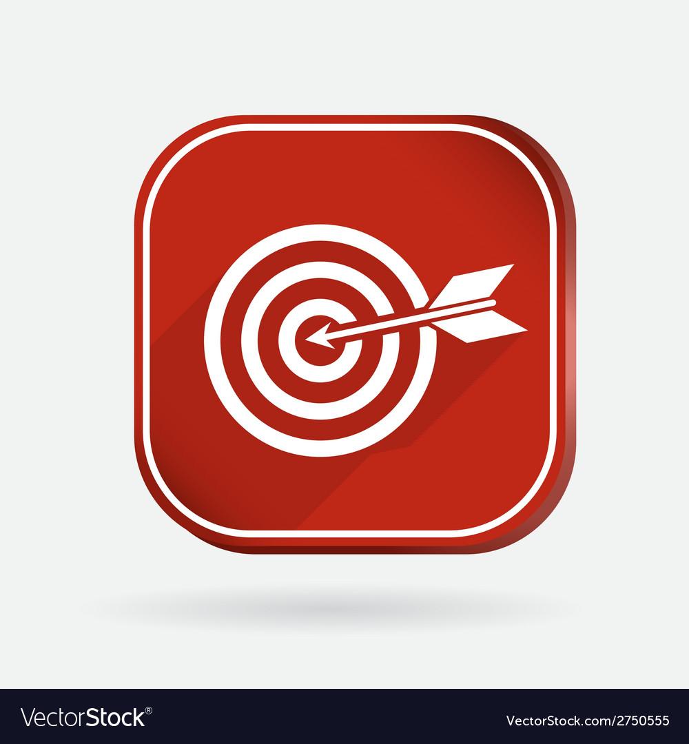 Target color square icon vector   Price: 1 Credit (USD $1)