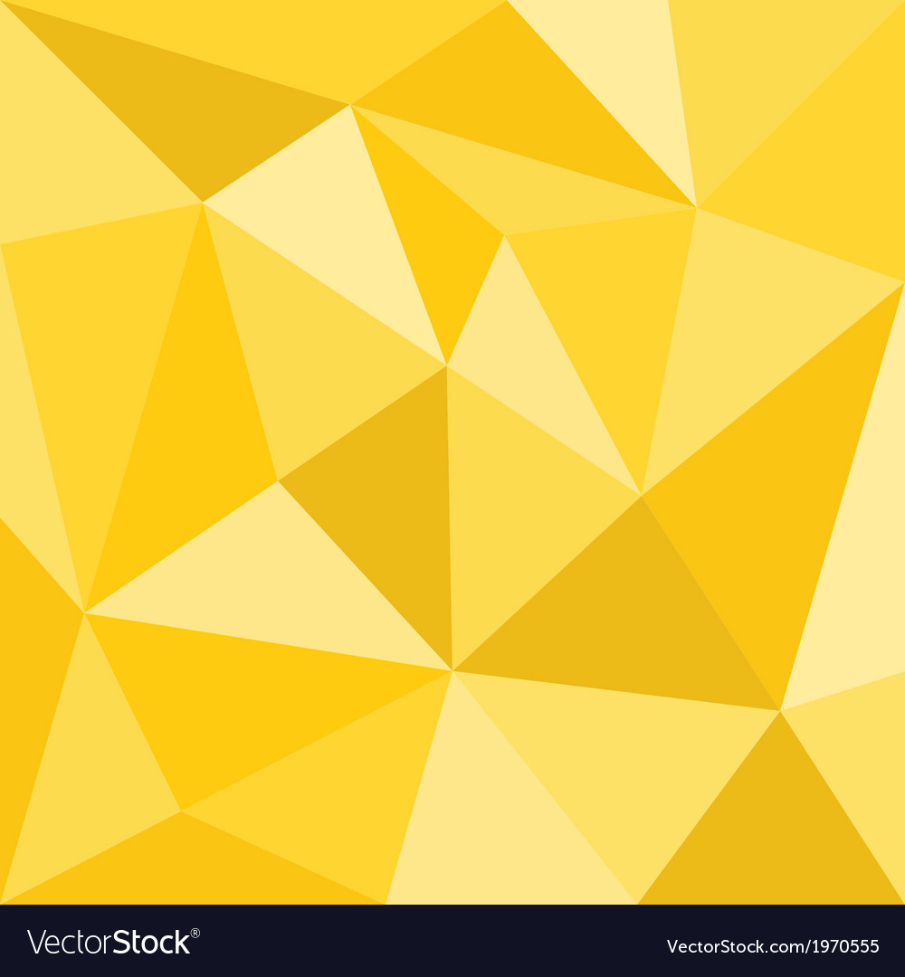 Triangle yellow background seamless sunny pattern vector | Price: 1 Credit (USD $1)