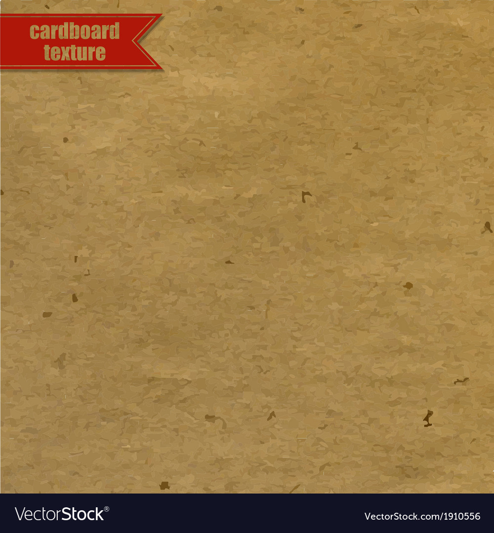 Cardboard texture with red ribbon vector | Price: 1 Credit (USD $1)