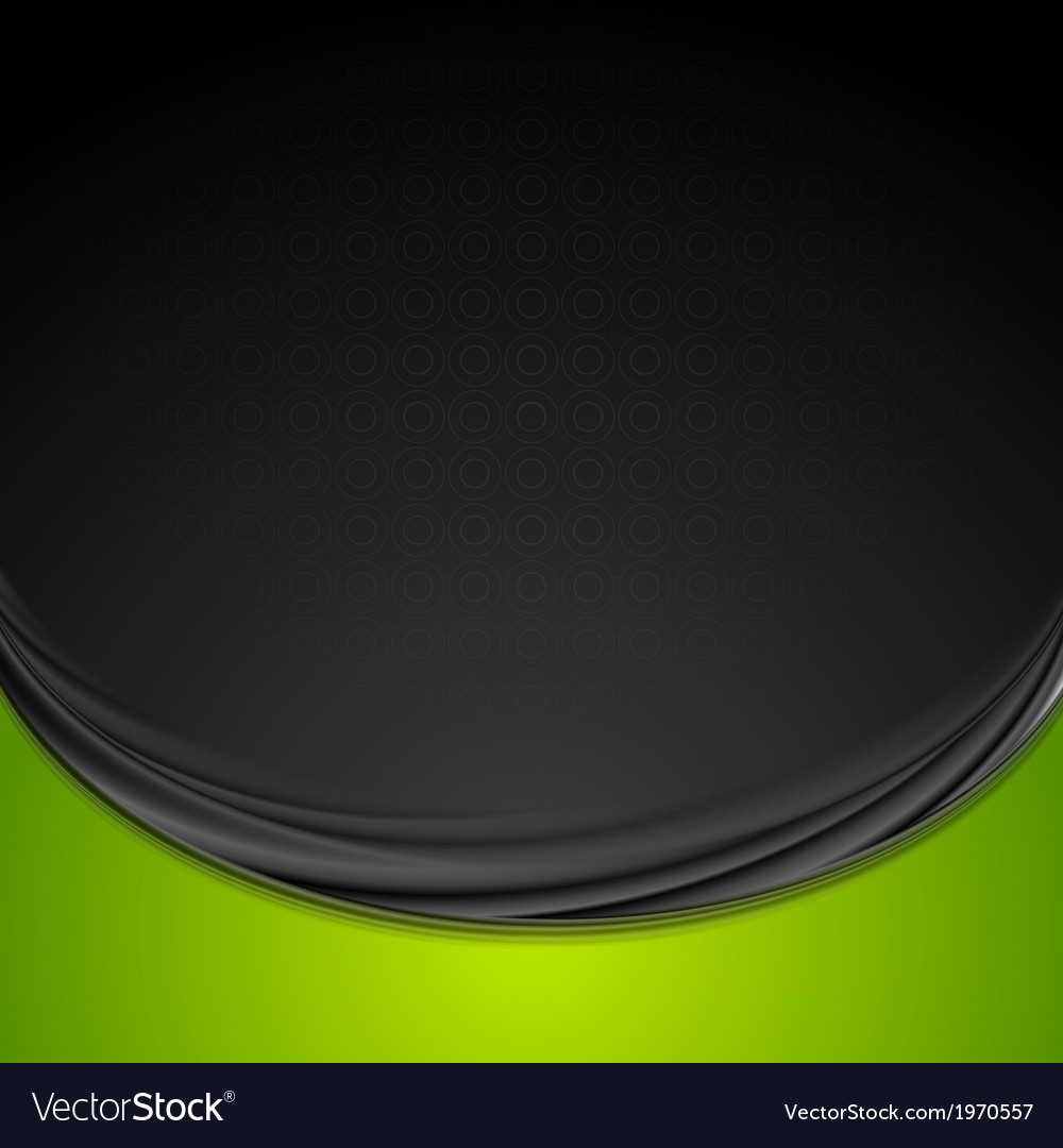 Bright smooth waves background vector | Price: 1 Credit (USD $1)