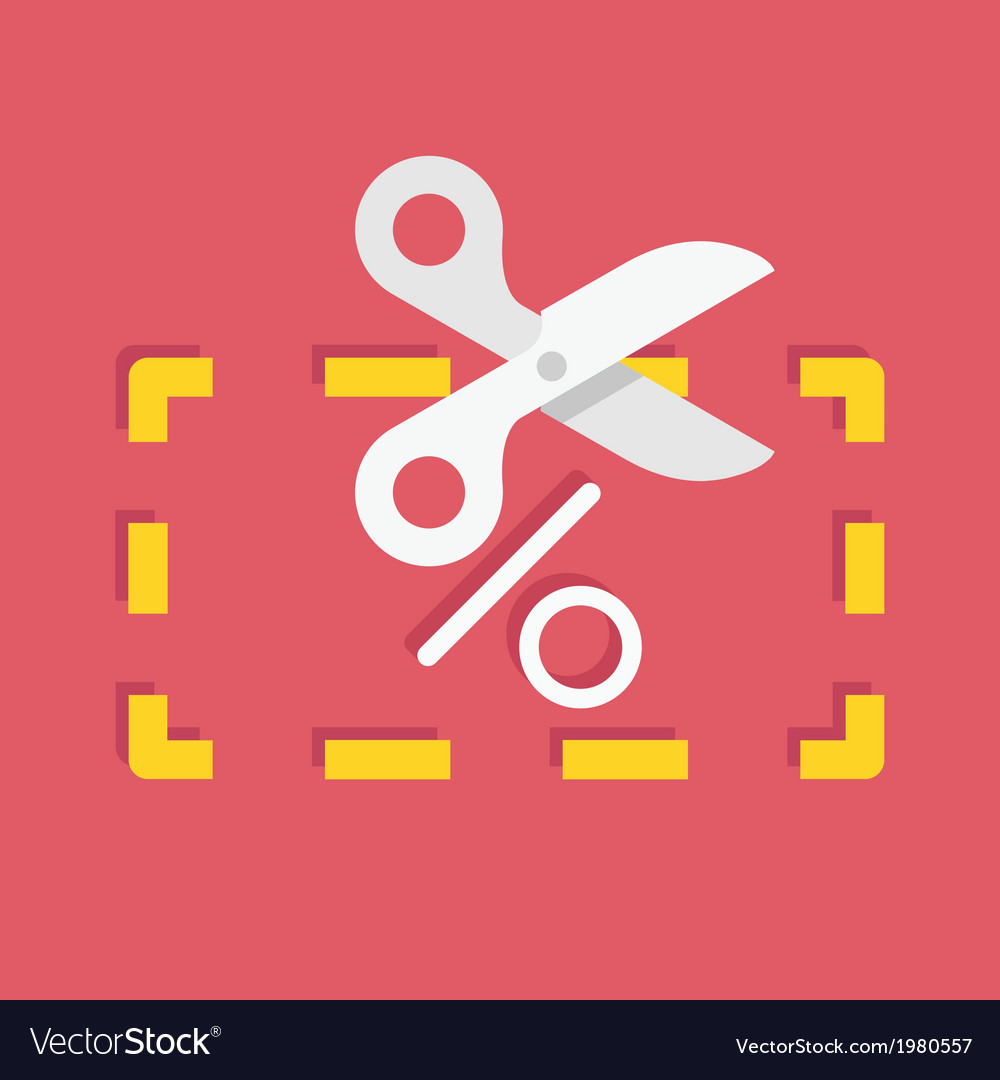 Discount coupon icon vector | Price: 1 Credit (USD $1)