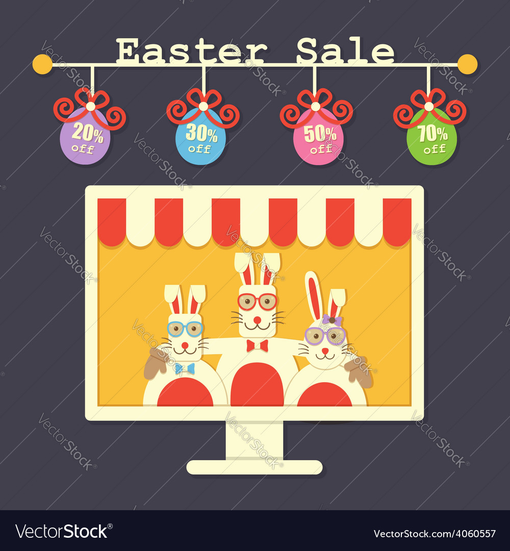 Easter sale vector | Price: 1 Credit (USD $1)