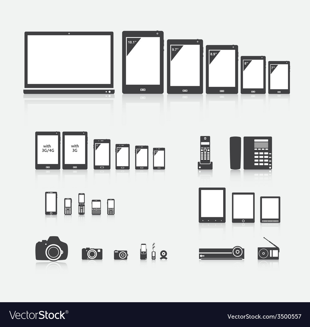 Electronics vector | Price: 1 Credit (USD $1)
