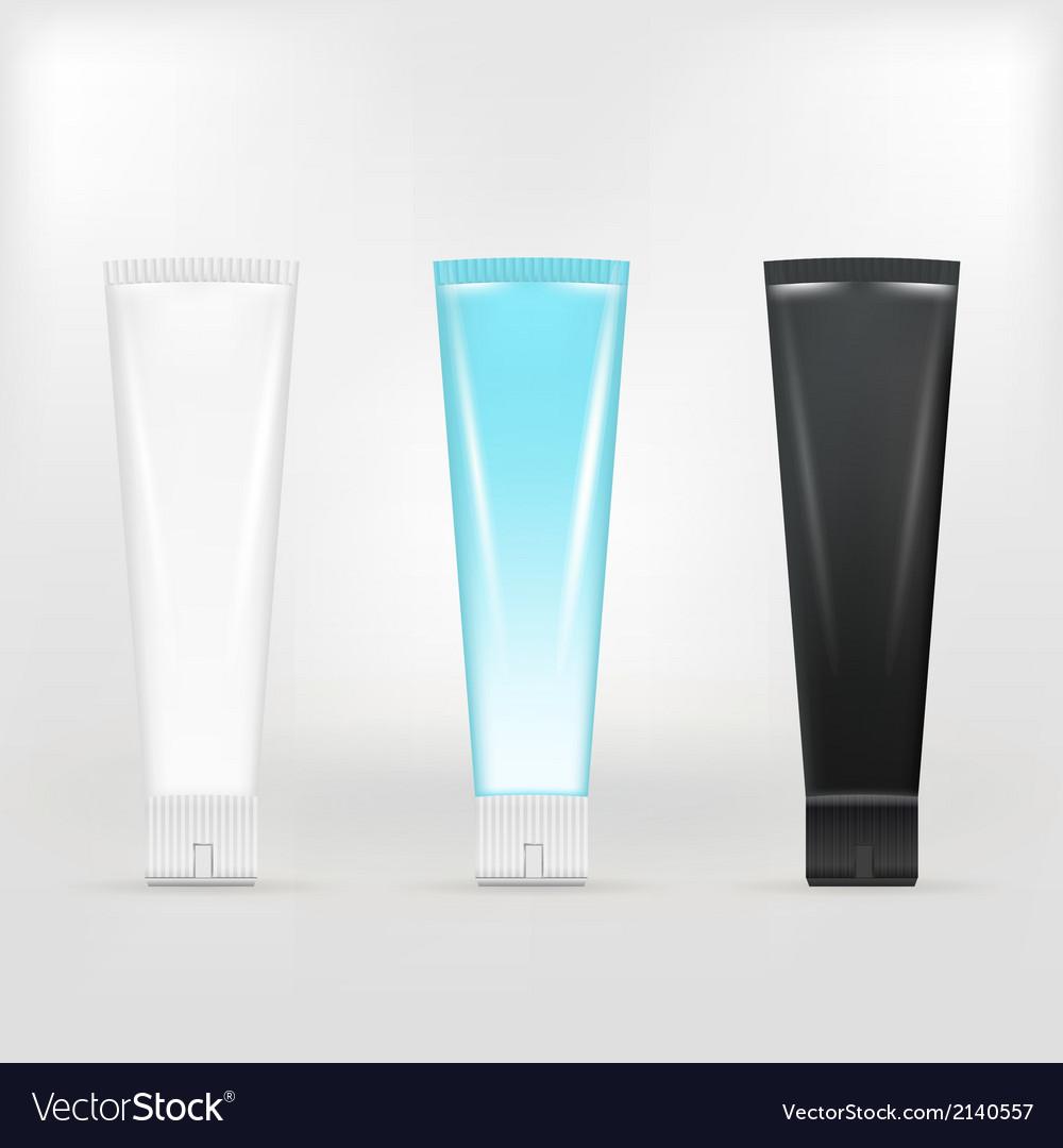 Tubes of cream vector | Price: 1 Credit (USD $1)