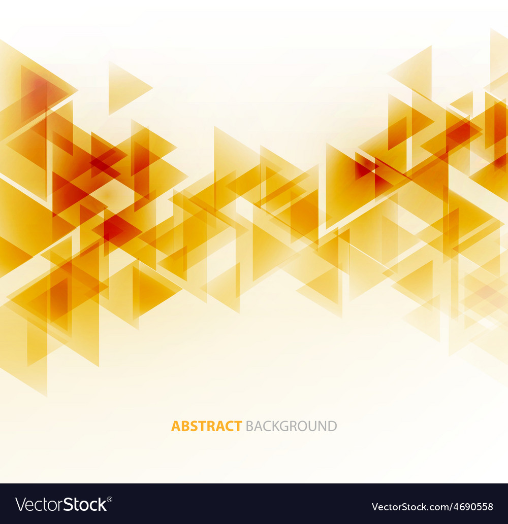 Abstract polygonal triangles poster vector   Price: 1 Credit (USD $1)