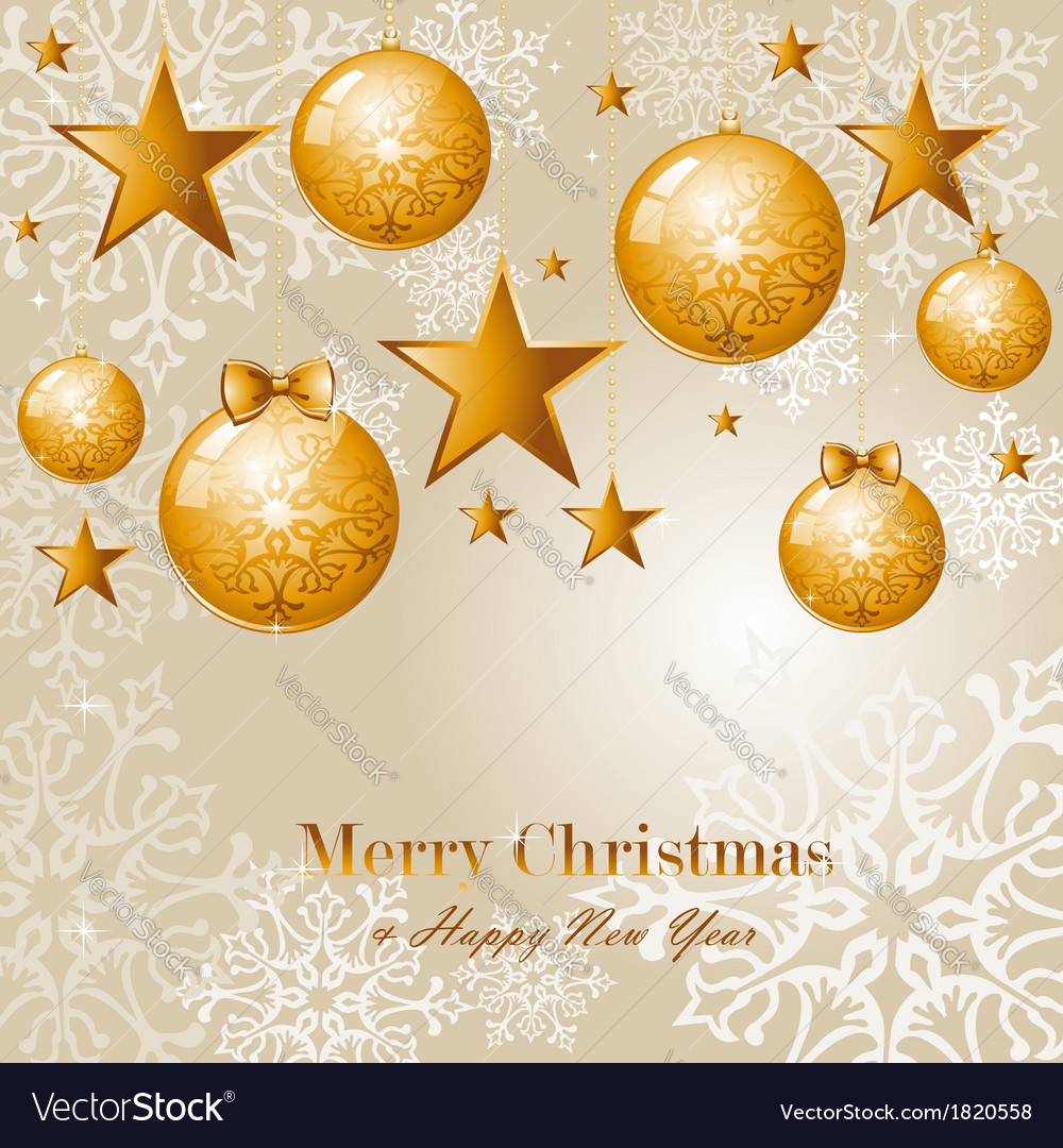 Contemporary merry christmas background eps10 file vector | Price: 1 Credit (USD $1)