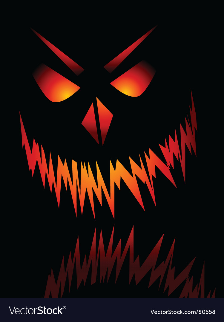 Evil face vector | Price: 1 Credit (USD $1)