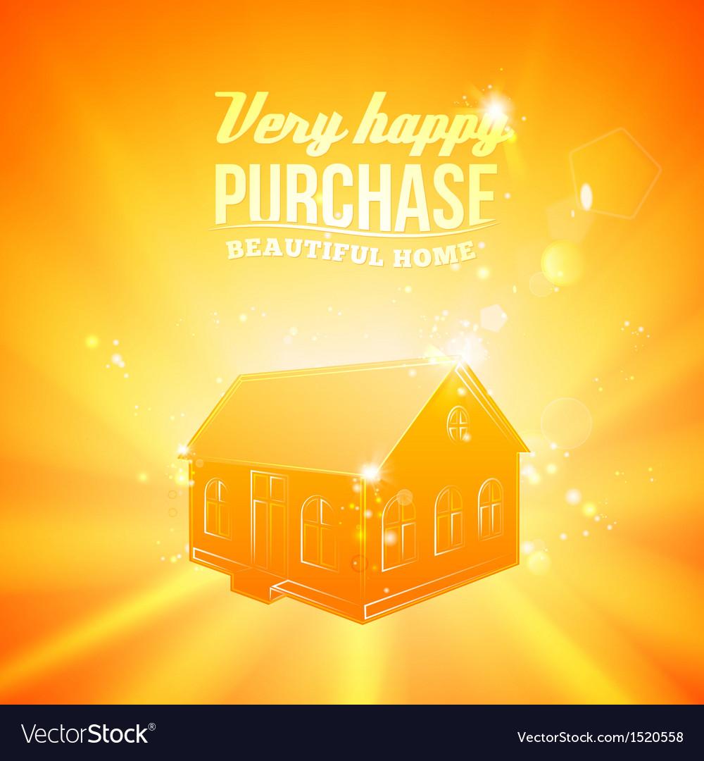 Real estate concept vector | Price: 1 Credit (USD $1)
