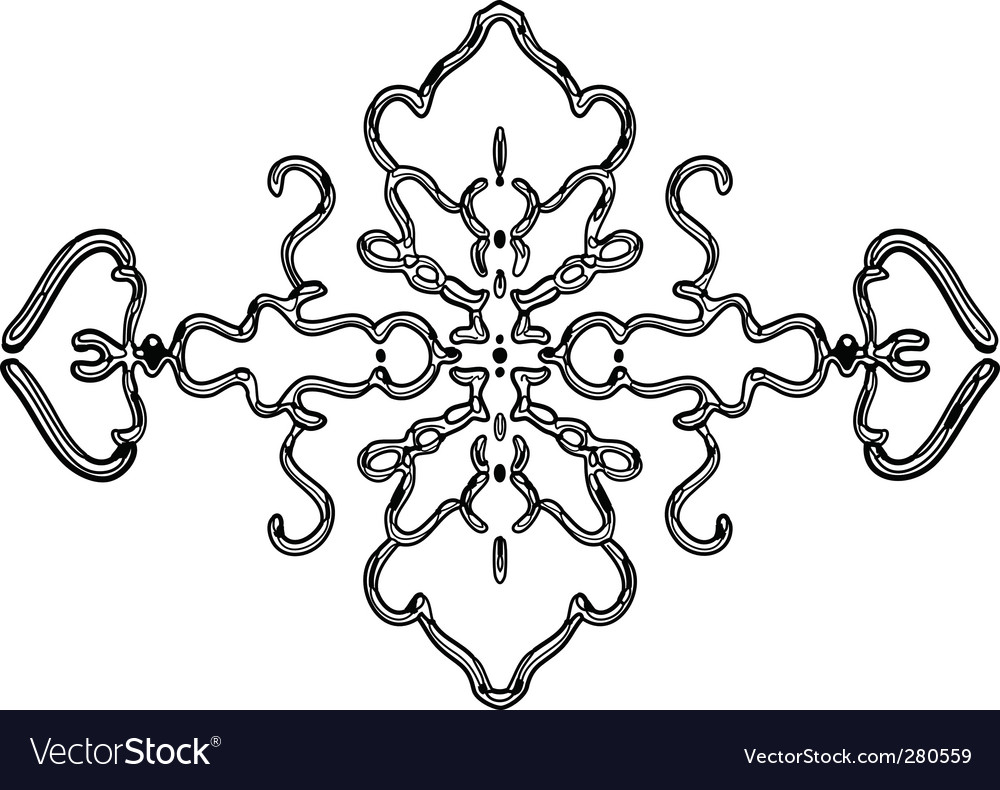 Ornament element vector | Price: 1 Credit (USD $1)