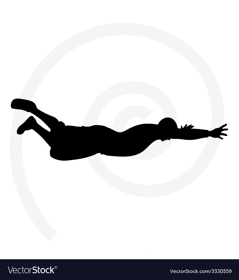 Senior climber man silhouette vector   Price: 1 Credit (USD $1)