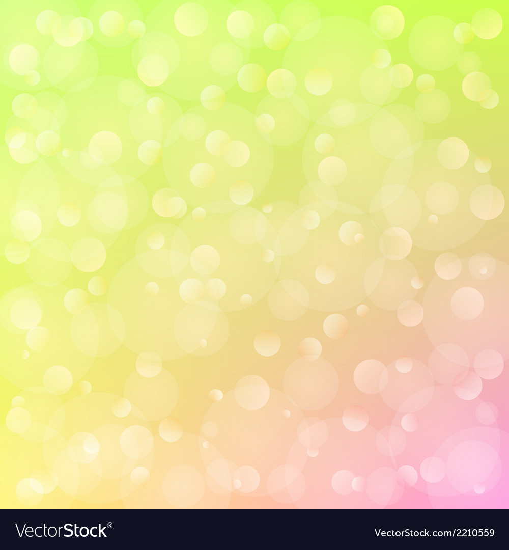 Spring background with bokeh vector | Price: 1 Credit (USD $1)