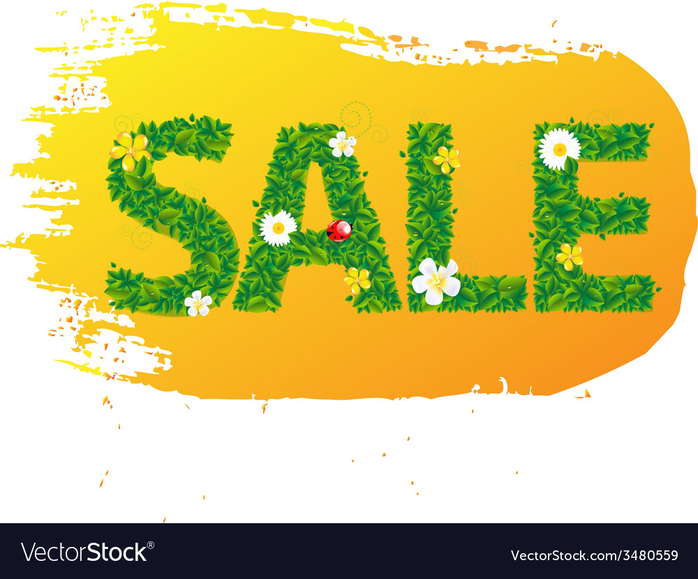 Summer sale banner blots for design vector | Price: 1 Credit (USD $1)
