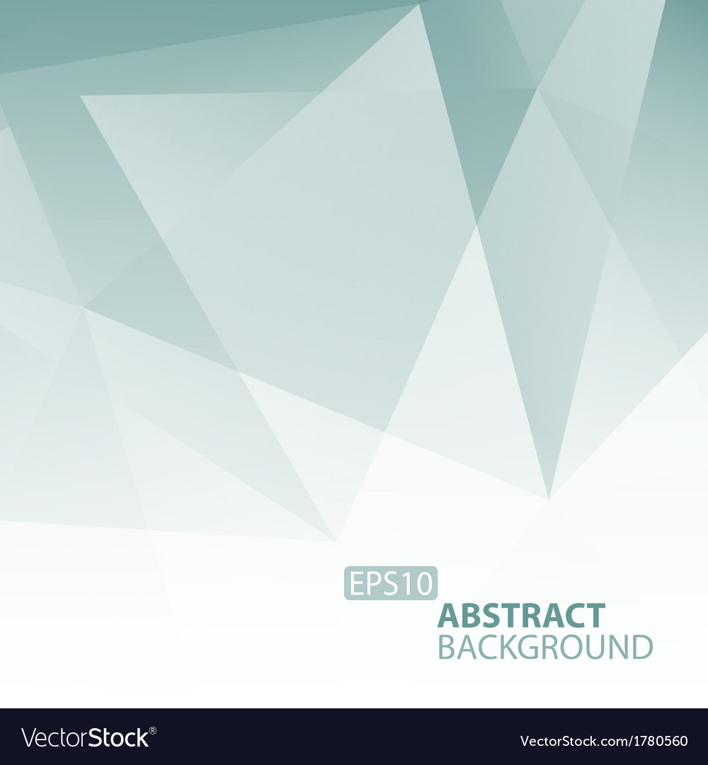 Abstract grey blue geometric background vector | Price: 1 Credit (USD $1)