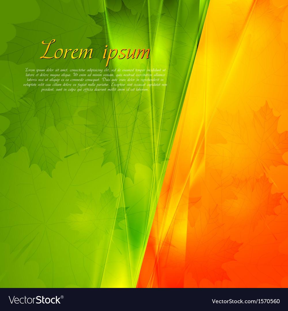 Autumn seasonal background vector | Price: 1 Credit (USD $1)