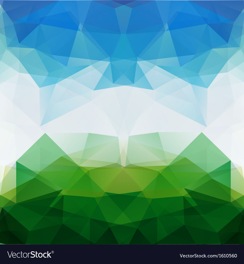 Colorful mosaic triangle background vector | Price: 1 Credit (USD $1)