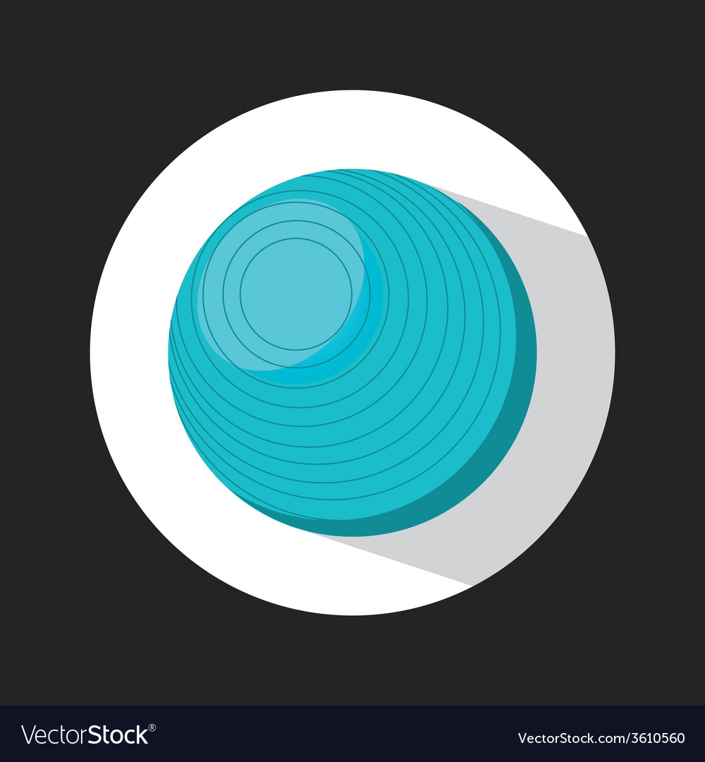 Exercise ball vector | Price: 1 Credit (USD $1)