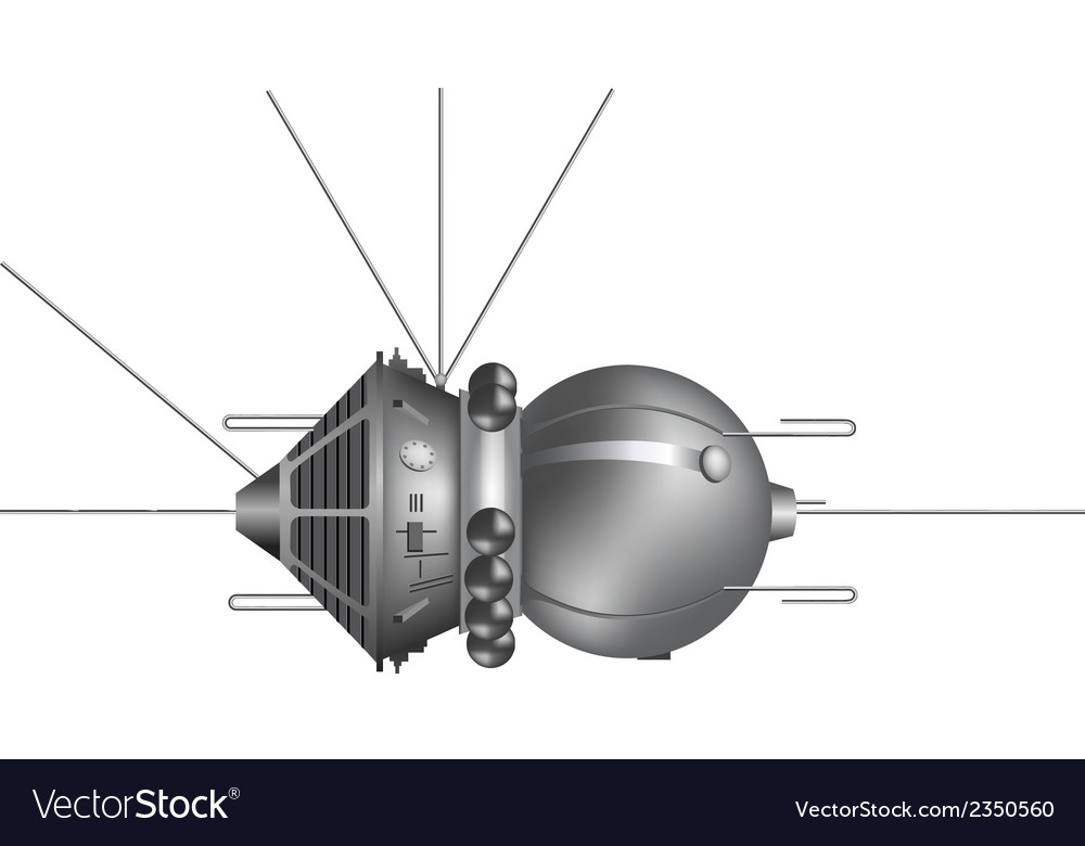 The first spaceship vostok vector | Price: 1 Credit (USD $1)