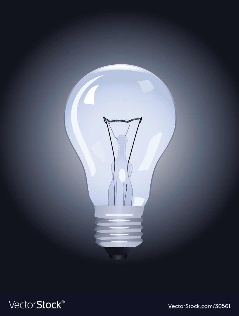 Electric lamp vector | Price: 1 Credit (USD $1)
