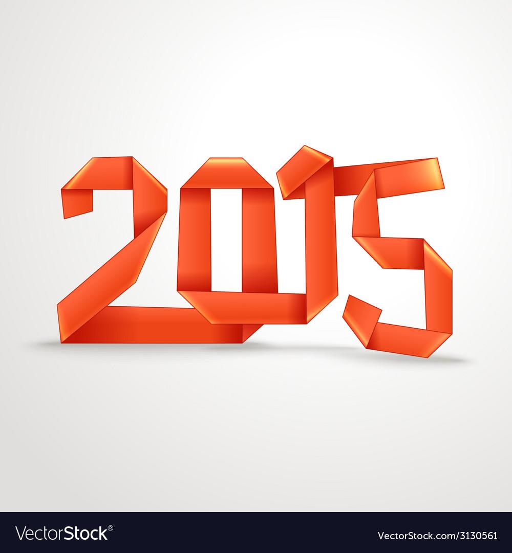 Happy new 2015 year vector | Price: 1 Credit (USD $1)
