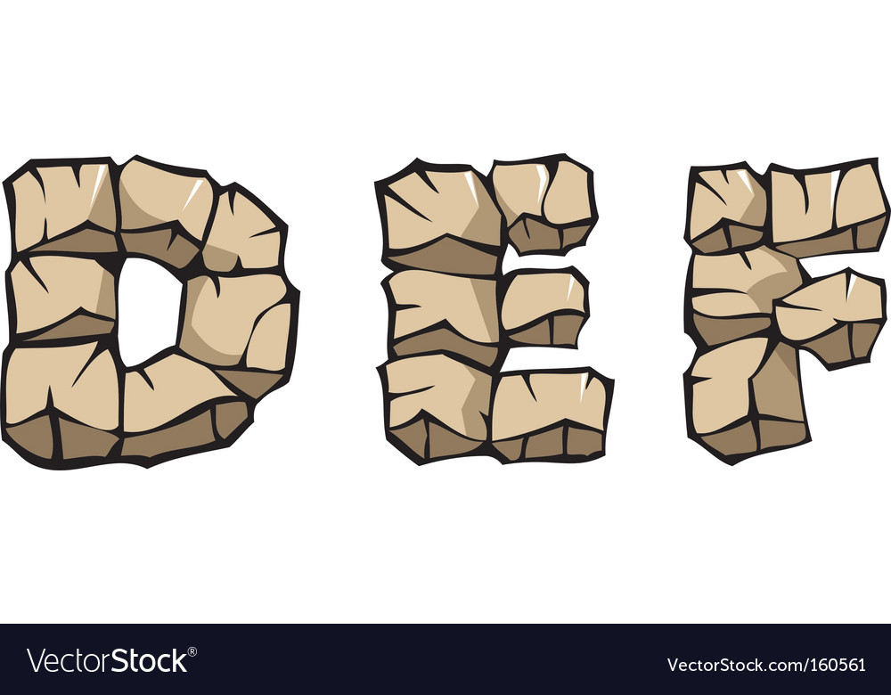 Stone alphabet def vector   Price: 1 Credit (USD $1)