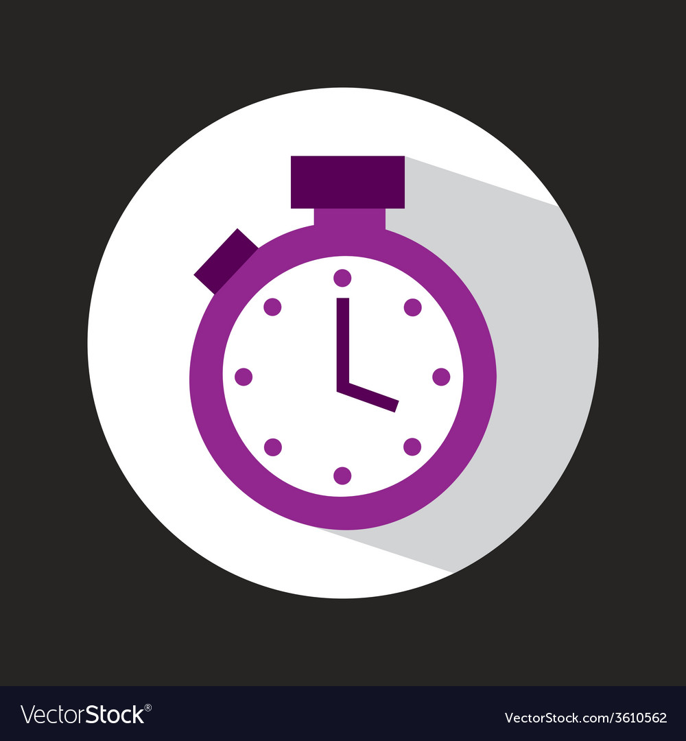 Timer icon vector | Price: 1 Credit (USD $1)